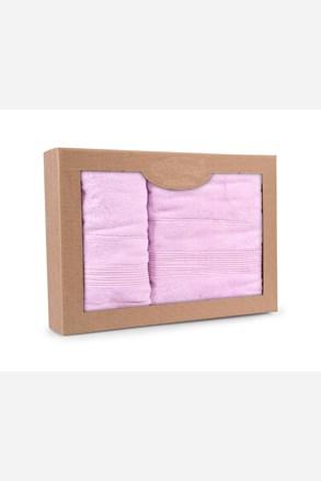 Prezentowy komplet ręczników Moreno lila