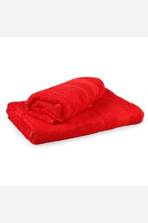 Prezentowy komplet ręczników Moreno czerwony