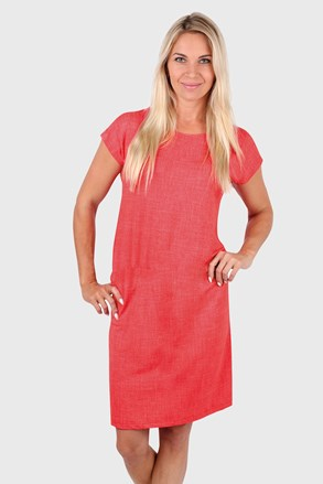Sukienka EVONA Tempesta czerwona