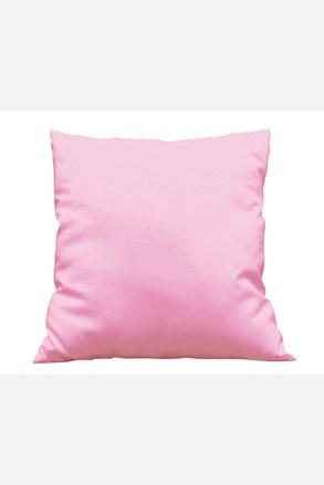 Poszewka na dekoracyjną poduszkę Uni różowa