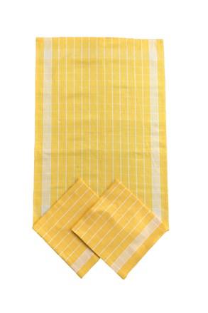 Komplet ścierek kuchennych żółty
