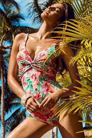 Jednoczęściowy damski kostium kąpielowy Flamina
