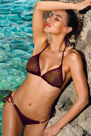 Kostium bikini Verona bordo
