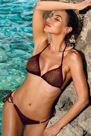 Strój kąpielowy bikini Verona Bordo