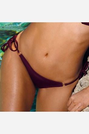 Majtki od stroju kąpielowego bikini Verona Bordo