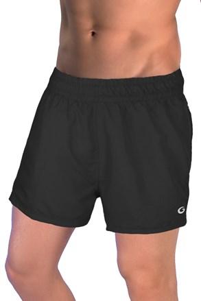 Męskie szorty kąpielowe GW Black Quick Dry