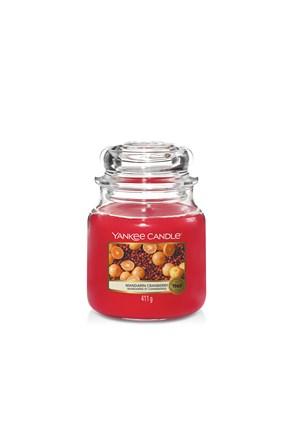 Świeczka Yankee Candle Mandarin Cranberry średnia