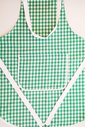 Fartuch kuchenny Kanwa zielony