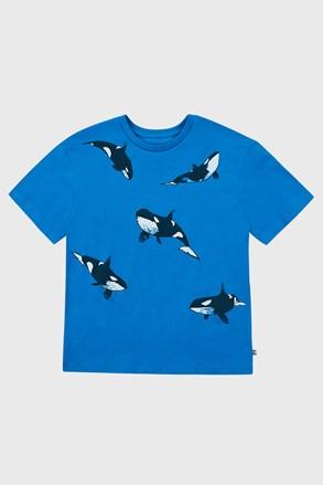 Chłopięcy T-shirt Whales