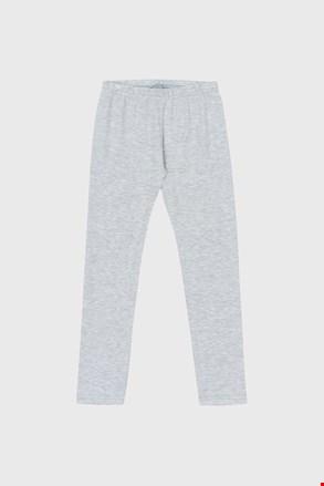 Dziewczęce legginsy Cotton szare