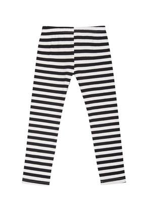 Dziewczęce legginsy Zebra