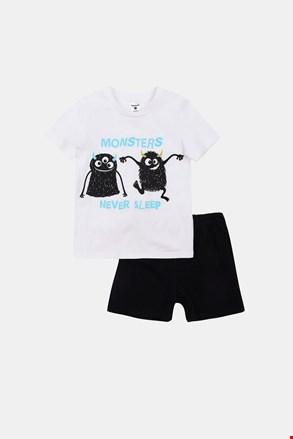 Chłopięca świecąca piżama Monsters