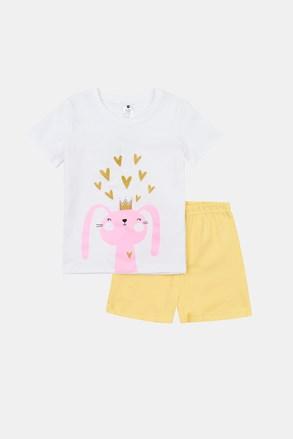 Dziewczęca świecąca piżama Rabbit