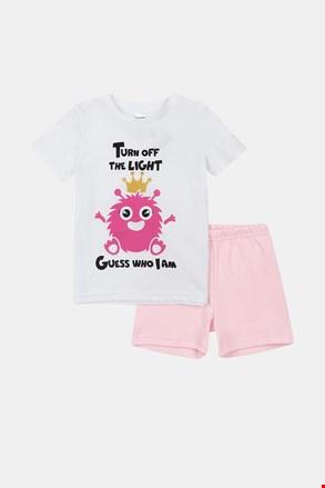 Dziewczęca świecąca piżama Monsters