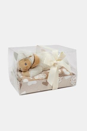 KOMPLET prezentowy dla niemowląt Owieczka