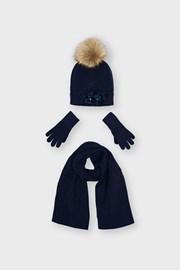 Zestaw dla dziewcząt czapki i szaliki Mayoral