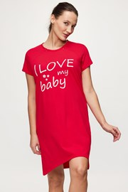 Koszulka ciążowa i do karmienia Love Baby