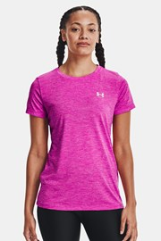 Różowy T-shirt sportowy Under Armour Twist