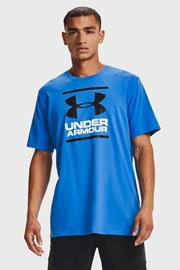 Niebieski T-shirt Under Armour Foundation