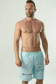 Męskie szorty kąpielowe Cyprinus turkusowe
