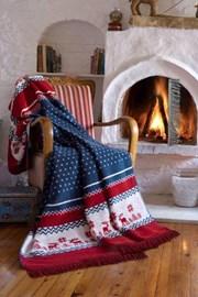 Bożonarodzeniowy koc Warm