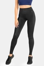 Damskie czarne legginsy sportowe Lejdi