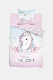 Dziewczęca pościel świecąca w ciemności Unicorn