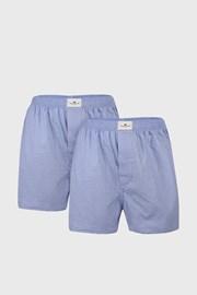 Dwupak jasnoniebieskich męskich szortów Tom Tailor