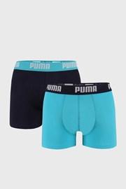 2 PACK niebieskich bokserek Puma Basic