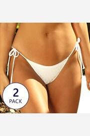 2 PACK dolnych części kostiumu kąpielowego Cambria