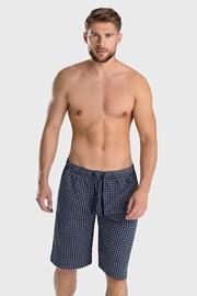 Niebieskie krótkie spodenki od piżamy Enzo