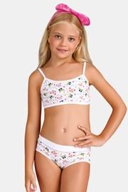 Dziewczęcy komplet: figi i top Butterfly I