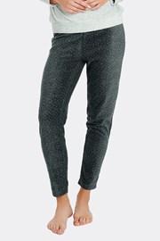 Damskie spodnie od piżamy w kropeczki