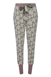 Damskie spodnie od piżamy Flowers