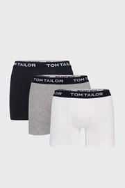 Trójpak dluższych bokserek Tom Tailor