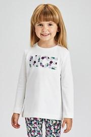 Dziewczęcy T-shirt z długim rękawem Mayoral Nice