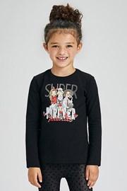 Dziewczęcy T-shirt z długim rękawem Mayoral Super