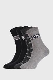 4 PACK damskich skarpetek Calvin Klein Bronx I