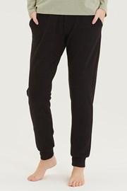 Damskie czarne spodnie dresowe