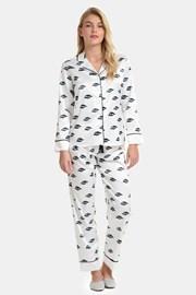 Satynowa piżama Ojos