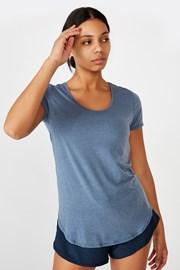 T-shirt sportowy Gym niebieski