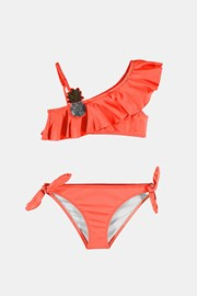 Dziewczęcy dwuczęściowy kostium kąpielowy Ananas