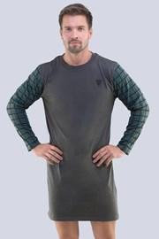 Męska koszula nocna Hector granatowa