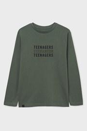 Chłopięcy T-shirt z długim rękawem Mayoral Teenagers