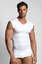 Biały T-shirt termiczny bez rękawów