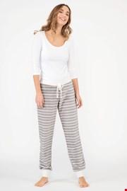Damskie spodnie od piżamy Snow