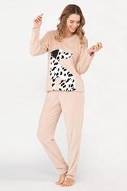 Ciepła damska piżama Dalmatine