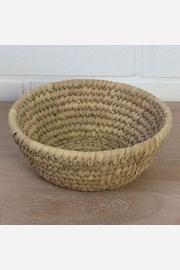 Duży koszyk z liści palmowych Home Design