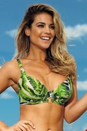Górna część damskiego kostiumu kąpielowego Jungle Oasis