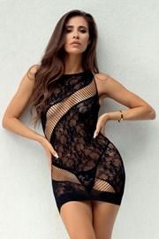 Bodystocking-sukienka Adios
